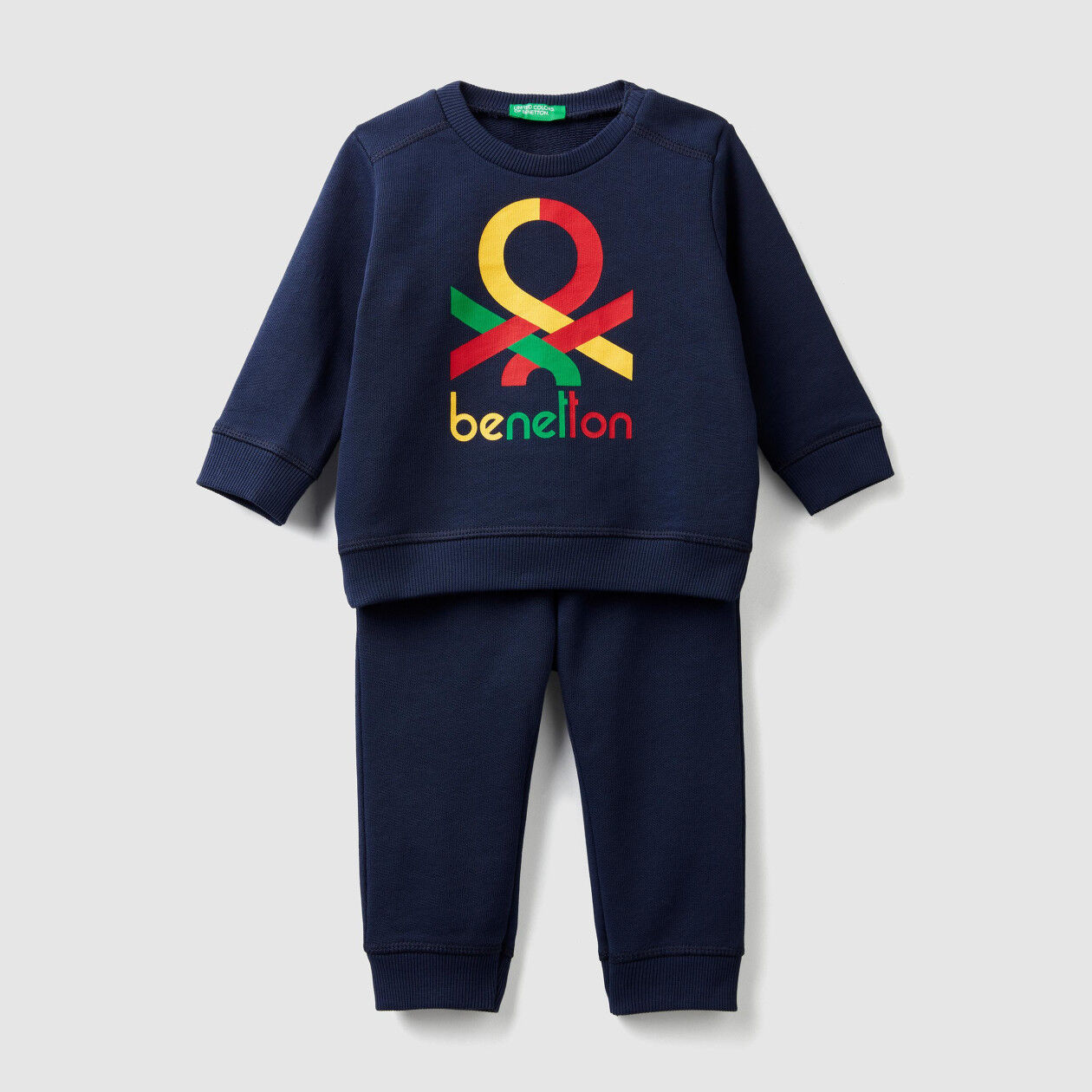 Tracksuit in organic cotton