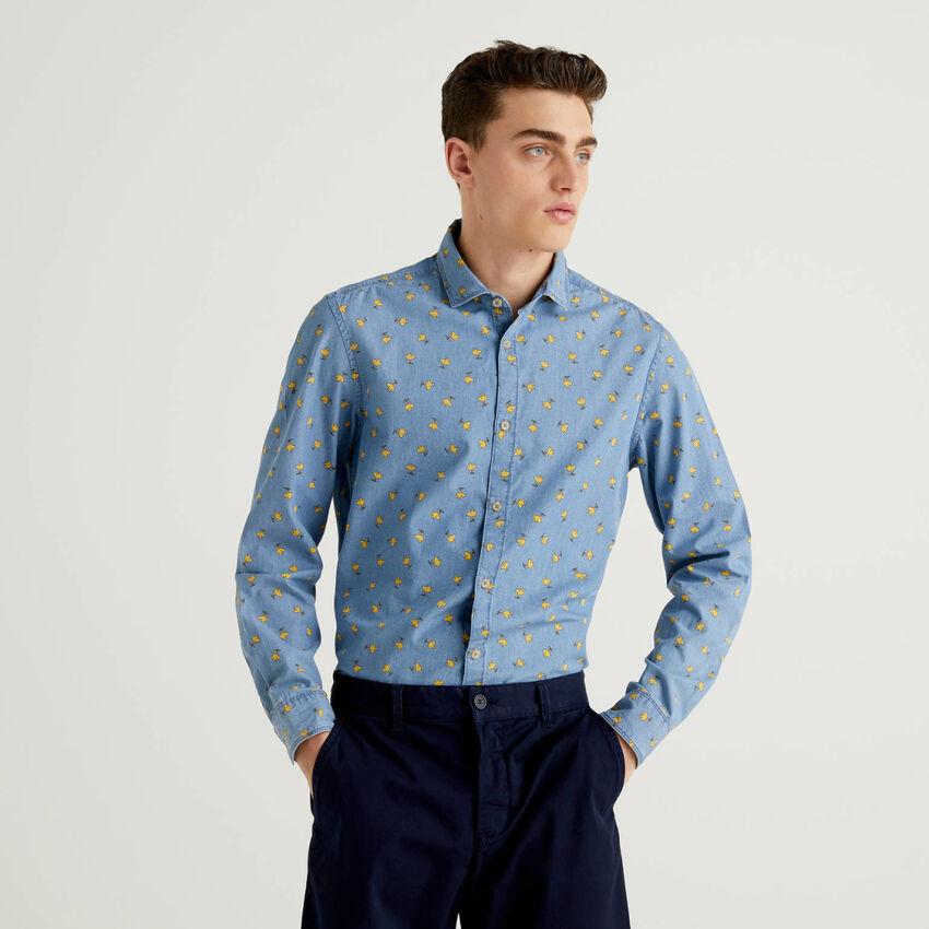 Shirt in Peanuts print cotton
