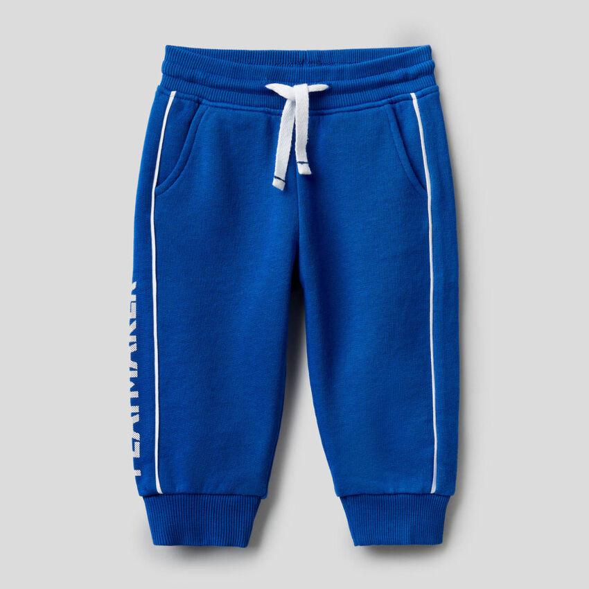 100% cotton sweatpants with print