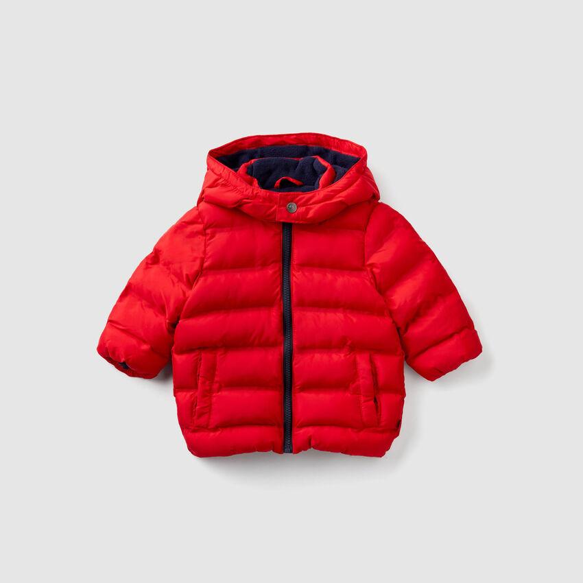 Jacket lined in fleece