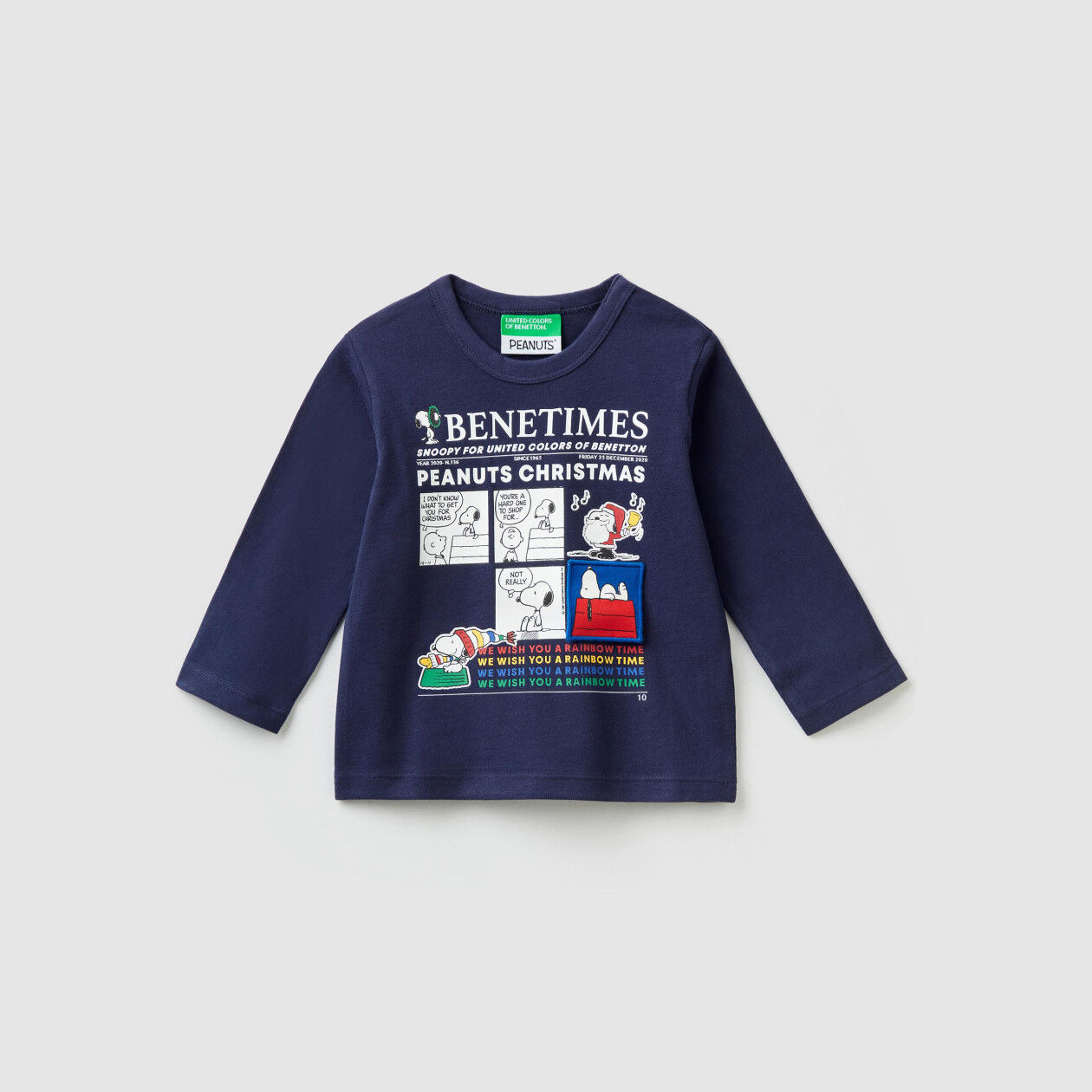 """Peanuts Christmas"" t-shirt"