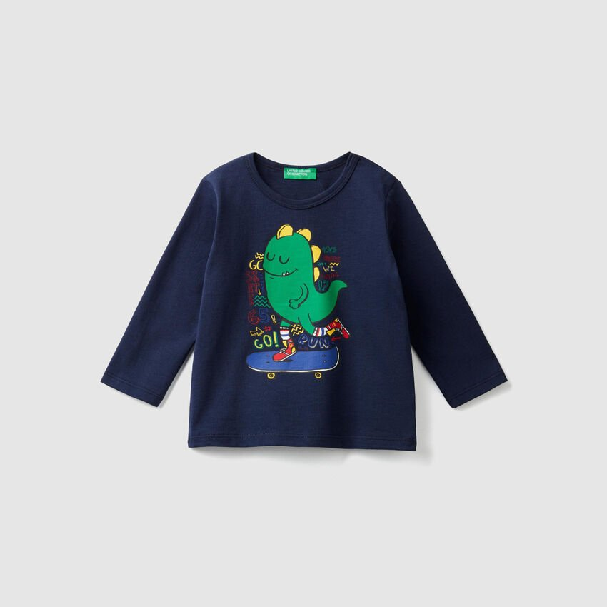 Crew neck t-shirt with print
