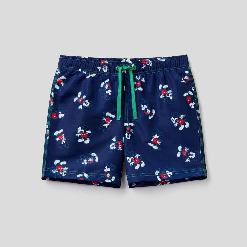 Mickey Mouse swim trunks