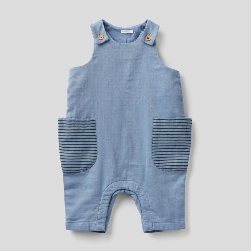 100% cotton sleeveless onesie