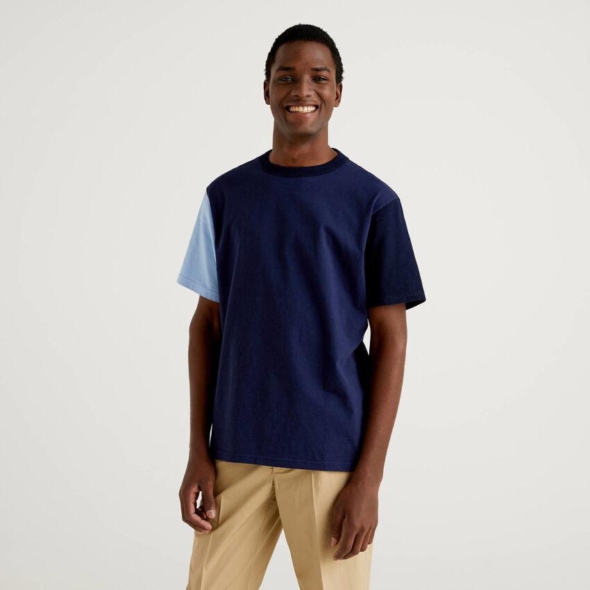Color block short sleeve t-shirt