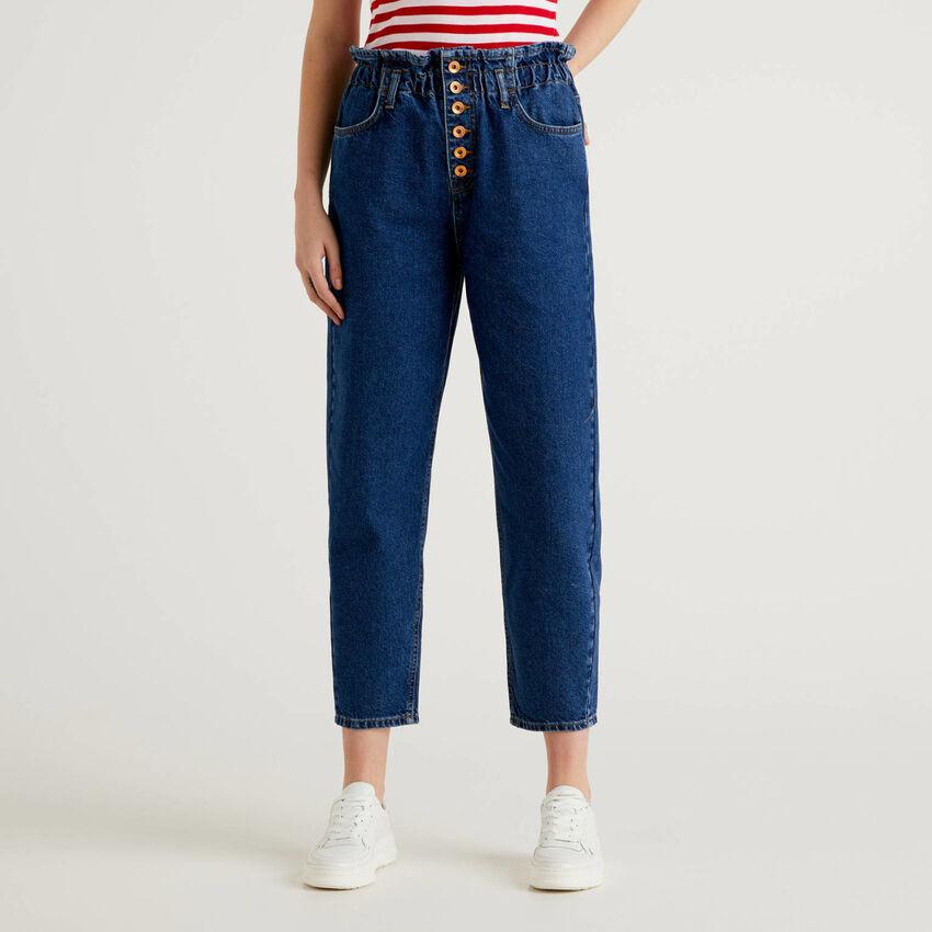 Paper bag jeans