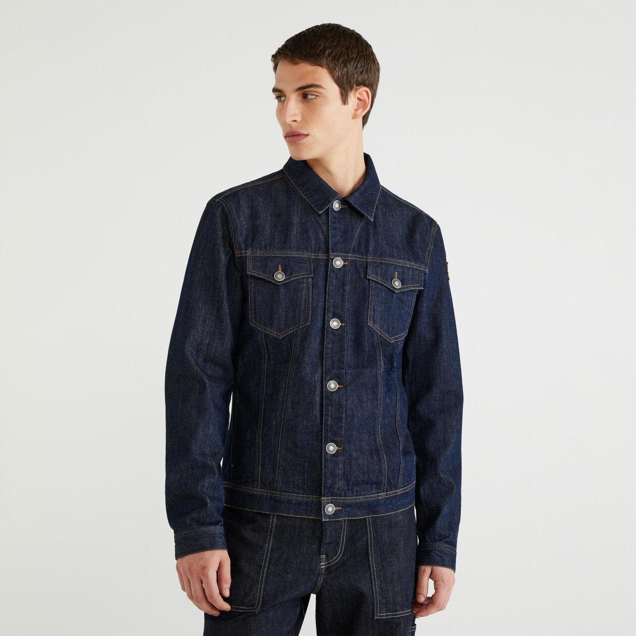 """Keith Haring"" jean jacket"