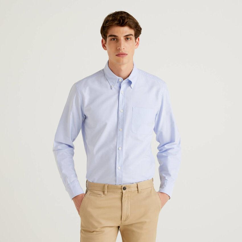 100% cotton regular fit shirt