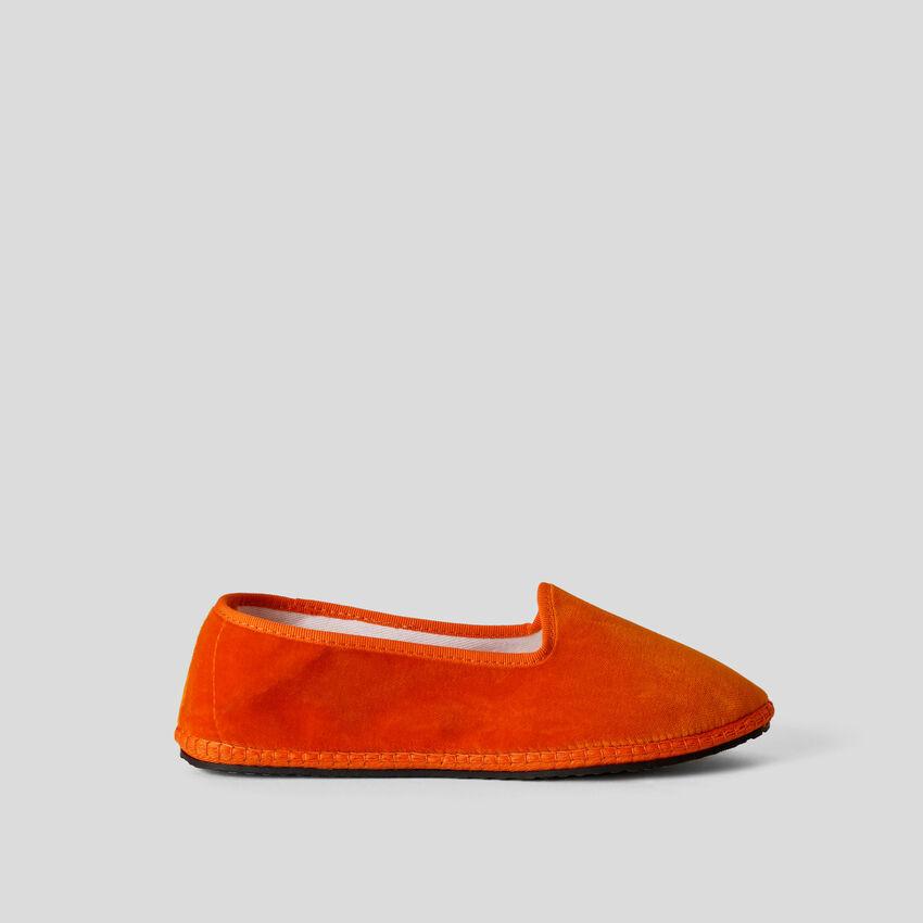 Orange velvet friulane