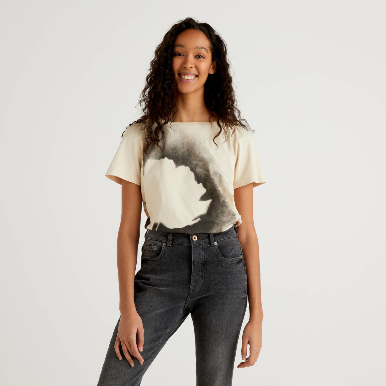 Organic cotton t-shirt with print