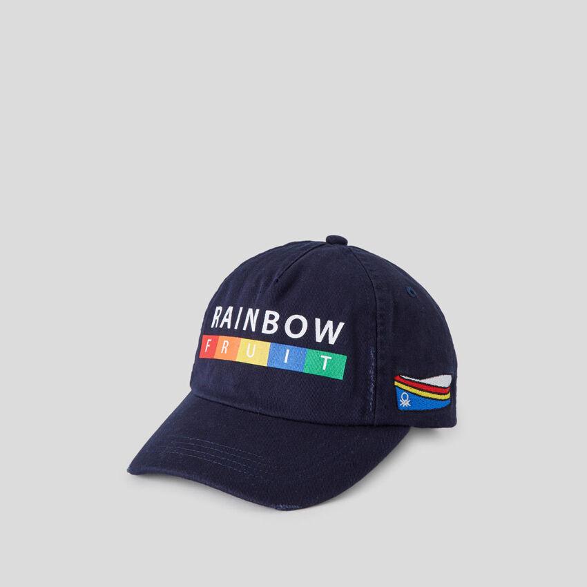 Dark blue baseball cap