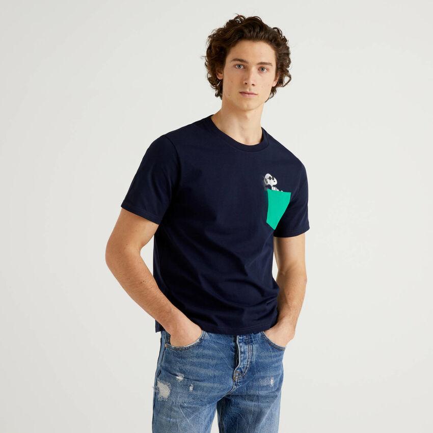 100% organic cotton Snoopy t-shirt