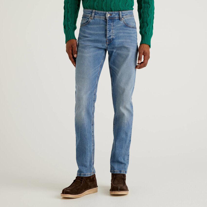 Five pocket slim fit jeans