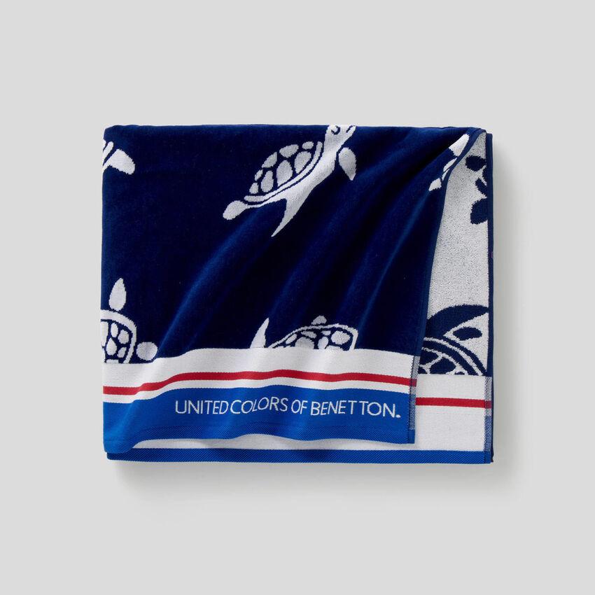 Patterned beach towel