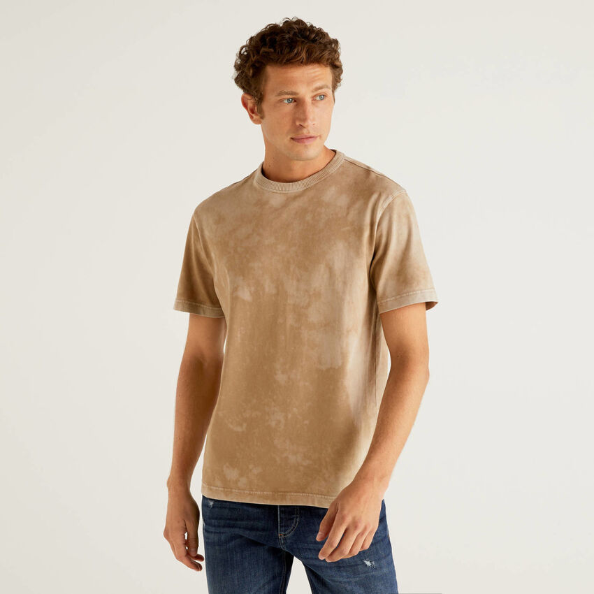 100% cotton tie-dye t-shirt